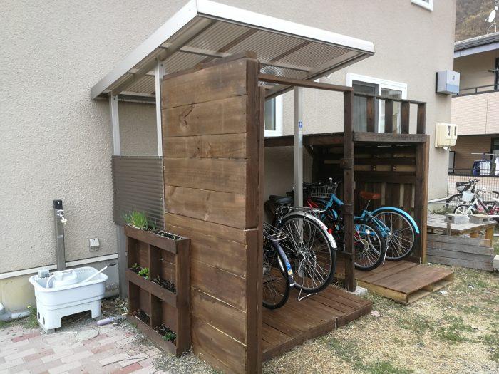 Diy 自転車 置き場